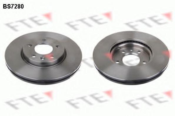 Тормозной диск FTE BS7280