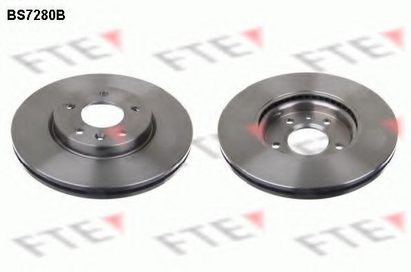 Тормозной диск FTE BS7280B