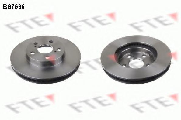 Тормозной диск FTE BS7636