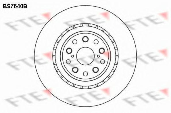 Тормозной диск FTE BS7640B