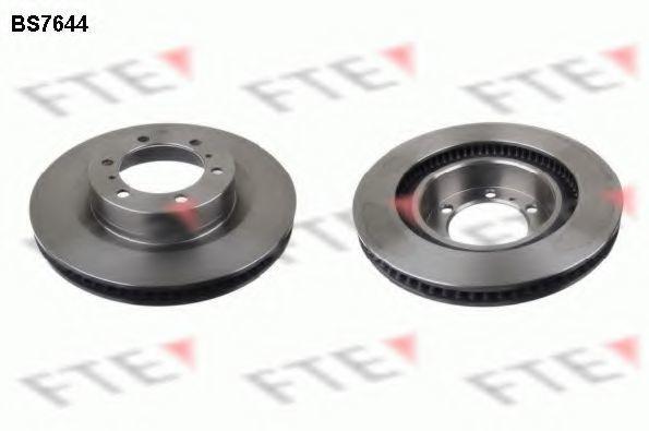 Тормозной диск FTE BS7644