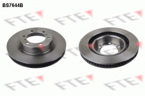 Тормозной диск FTE BS7644B