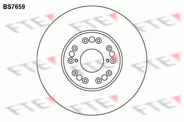 Тормозной диск FTE BS7659