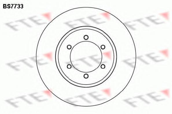 Тормозной диск FTE BS7733