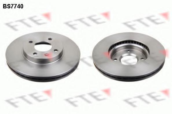 Тормозной диск FTE BS7740