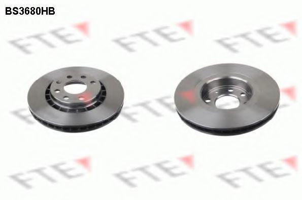 Тормозной диск FTE BS3680HB