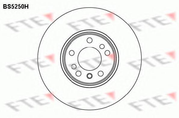 Тормозной диск FTE BS5250H