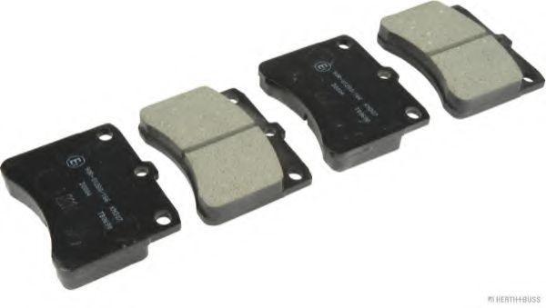 Комплект тормозных колодок, дисковый тормоз JAKOPARTS J3606005