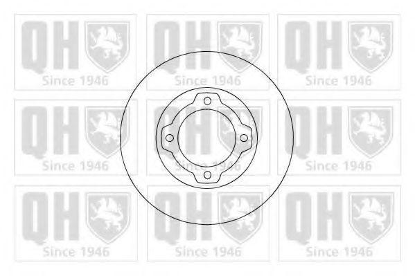 Тормозной диск QUINTON HAZELL BDC3098