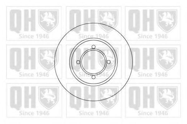 Тормозной диск QUINTON HAZELL BDC3380