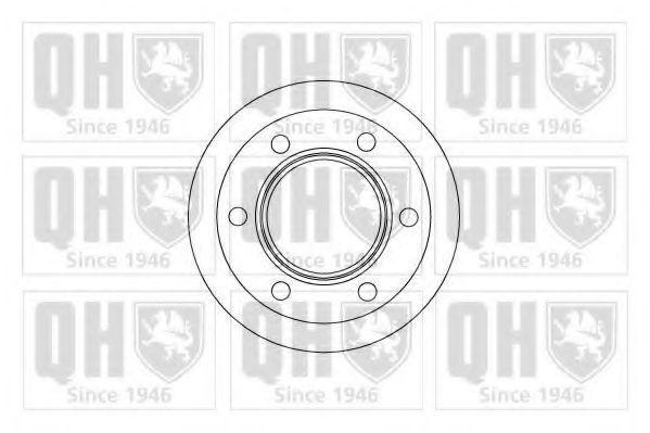 Тормозной диск QUINTON HAZELL BDC4311