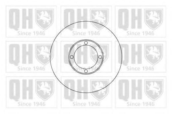 Тормозной диск QUINTON HAZELL BDC4863