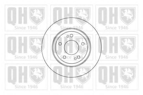 Тормозной диск QUINTON HAZELL BDC5062
