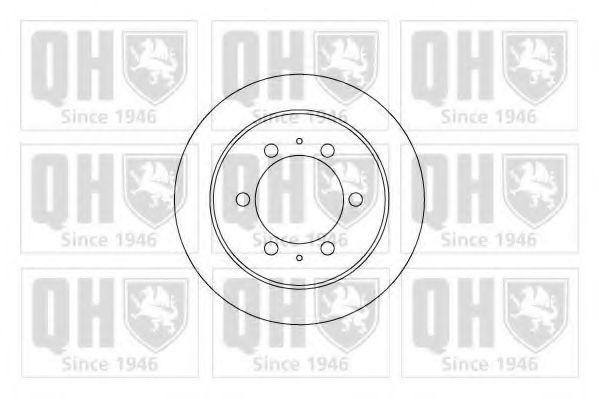 Диск тормозной QUINTON HAZELL BDC 5109