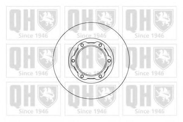 Диск тормозной QUINTON HAZELL BDC 5122