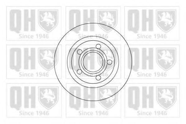 Диск тормозной QUINTON HAZELL BDC 5206