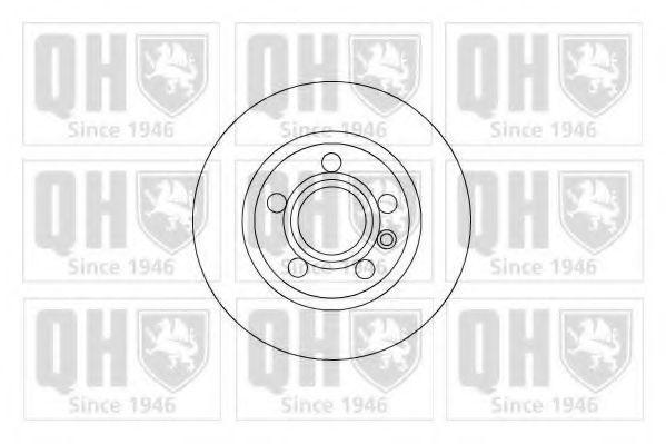 Диск тормозной QUINTON HAZELL BDC 5216