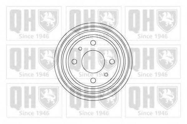 Тормозной барабан QUINTON HAZELL BDR115