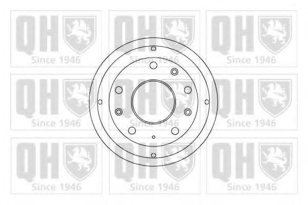 Тормозной барабан QUINTON HAZELL BDR129