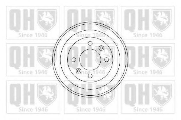 Барабан тормозной QUINTON HAZELL BDR139