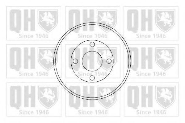 Тормозной барабан QUINTON HAZELL BDR248