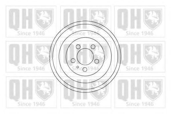 Барабан тормозной QUINTON HAZELL BDR281