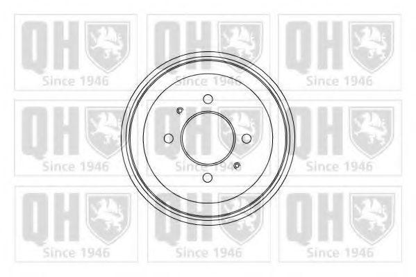 Тормозной барабан QUINTON HAZELL BDR463