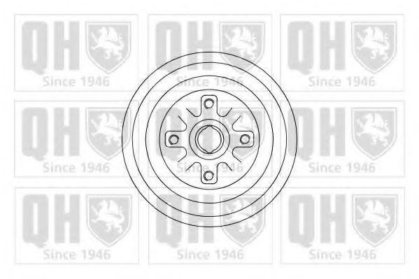 Барабан тормозной QUINTON HAZELL BDR531