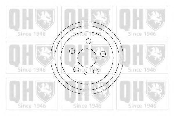 Барабан тормозной QUINTON HAZELL BDR553