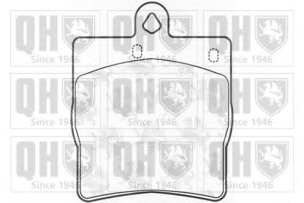 Колодки тормозные QUINTON HAZELL BP1084