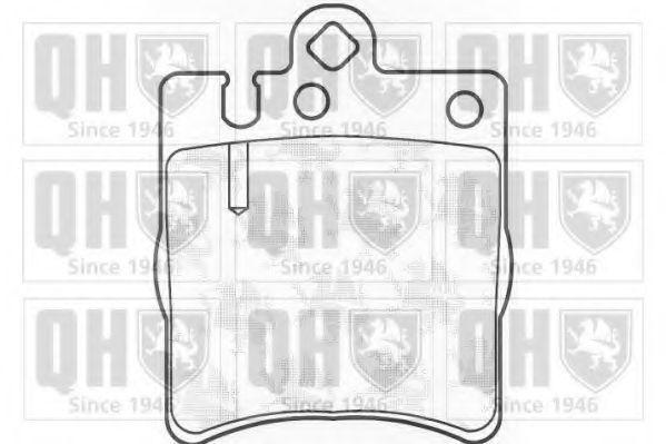 Колодки тормозные QUINTON HAZELL BP1100