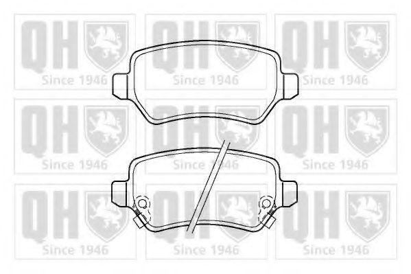 Колодки тормозные QUINTON HAZELL BP1365