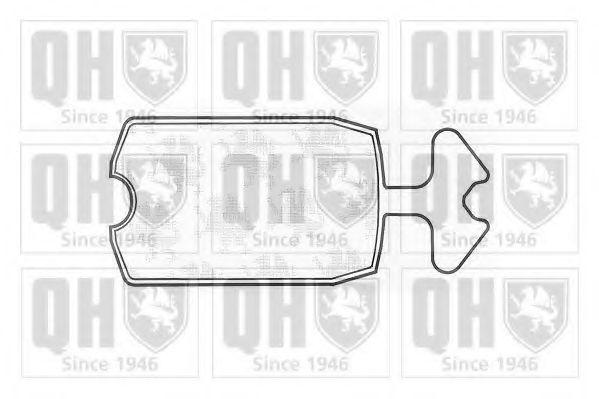 Комплект тормозных колодок, дисковый тормоз QUINTON HAZELL BP260