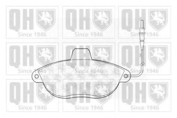 Колодки тормозные QUINTON HAZELL BP903