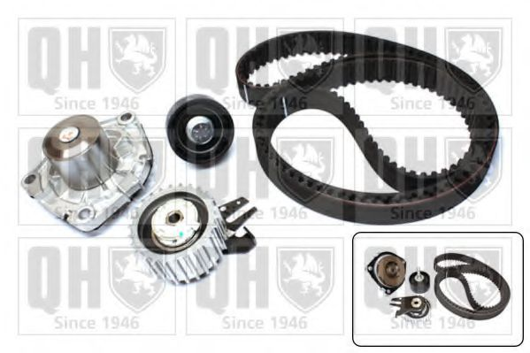 Водяной насос + комплект зубчатого ремня QUINTON HAZELL QBPK6590