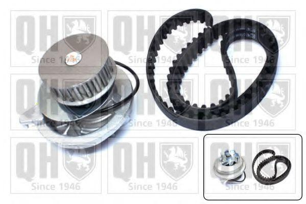 Водяной насос + комплект зубчатого ремня QUINTON HAZELL QBPK9039