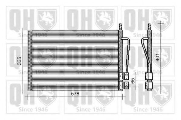 Конденсатор, кондиционер QUINTON HAZELL QCN243