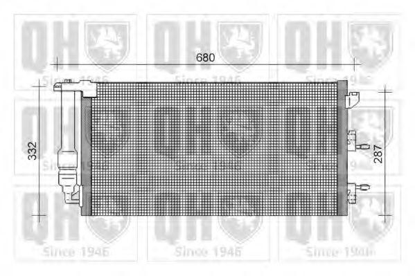 Конденсатор, кондиционер QUINTON HAZELL QCN369