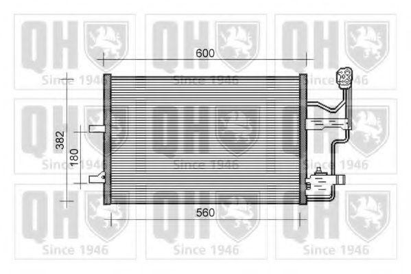 Конденсатор, кондиционер QUINTON HAZELL QCN393