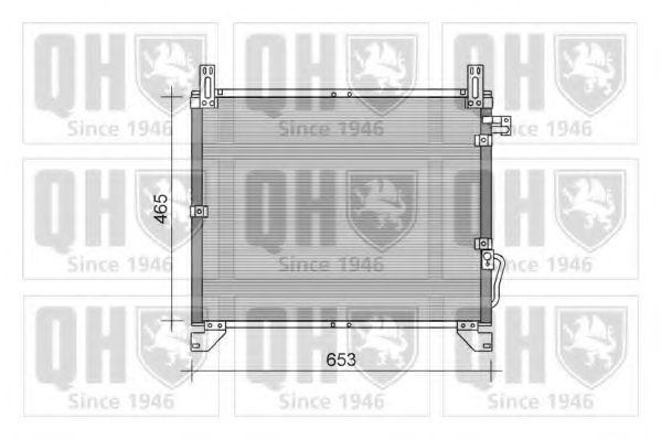 Конденсатор, кондиционер QUINTON HAZELL QCN430