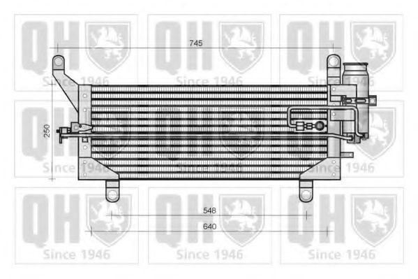 Конденсатор, кондиционер QUINTON HAZELL QCN95