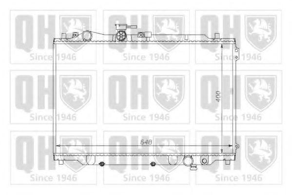 Радиатор, охлаждение двигателя QUINTON HAZELL QER1149
