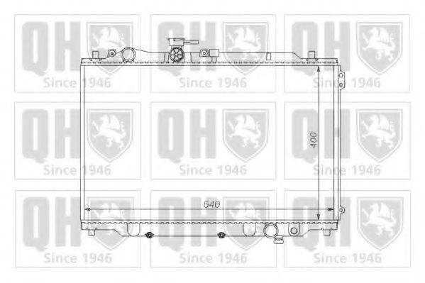 Радиатор, охлаждение двигателя QUINTON HAZELL QER1150