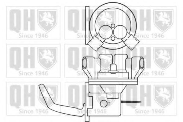 Топливный насос QUINTON HAZELL QFP135