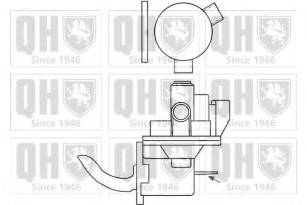 Топливный насос QUINTON HAZELL QFP163