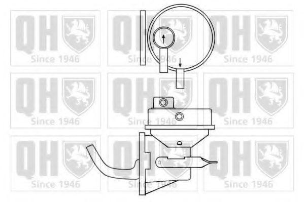 Топливный насос QUINTON HAZELL QFP314
