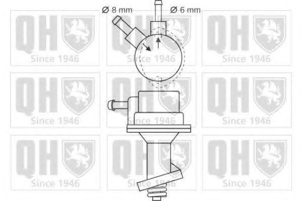 Топливный насос QUINTON HAZELL QFP73