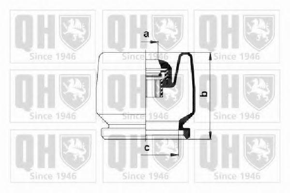 Комплект пылника, приводной вал QUINTON HAZELL QJB175