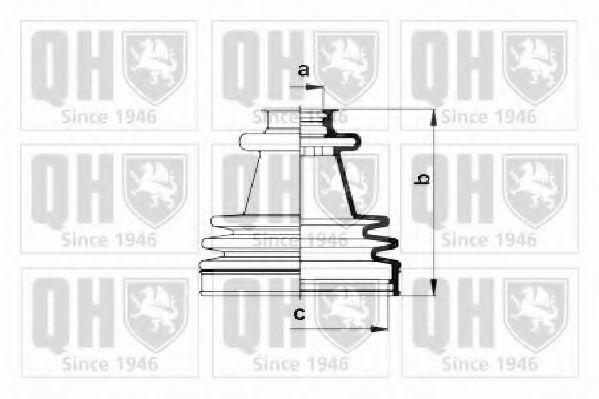 Комплект пылника, приводной вал QUINTON HAZELL QJB2212