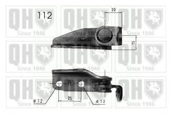 Газовая пружина, крышка багажник QUINTON HAZELL QTS840244
